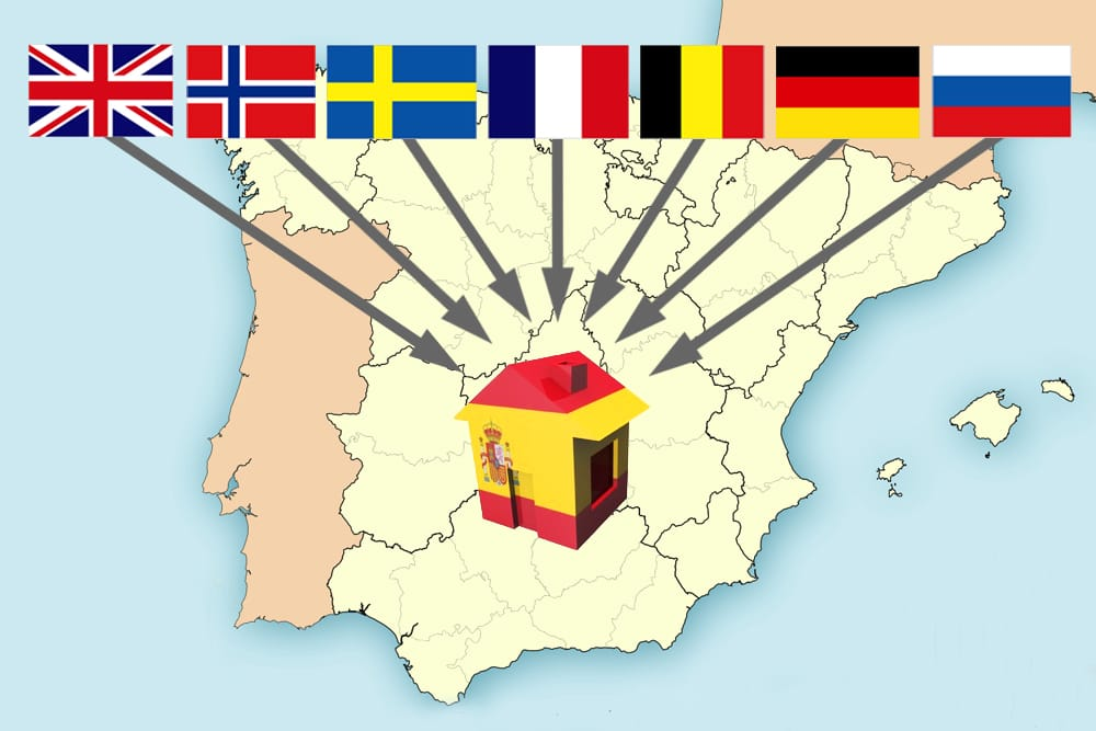 Цены на недвижимость в регионах испании