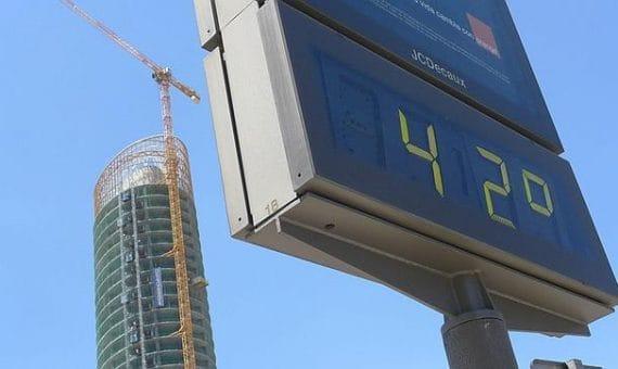 Испанию ждёт очень жаркий август