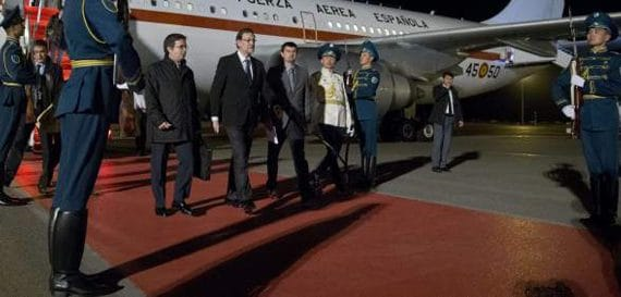 Официальный визит президента Правительства   Испании в Казахстан