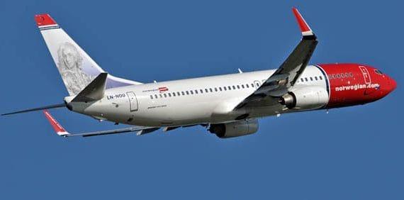 Норвежские авиалинии будут летать из Барселоны