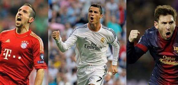 Претенденты на «Золотой Мяч-2013»