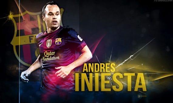 Андрес Иньеста с ФК «Барселона» до 2018 года