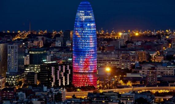 Новая смотровая площадка в Барселоне