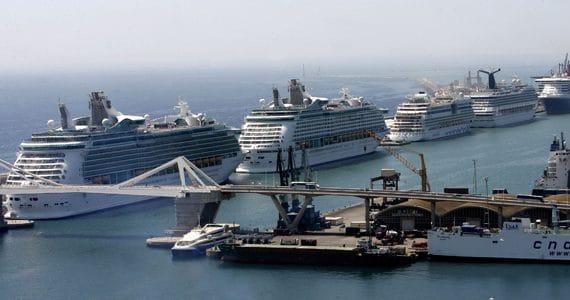 Барселона -крупнейший морской порт мира
