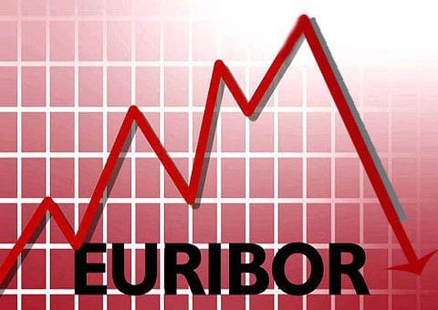 Снижение индекса Еврибор в феврале 2014