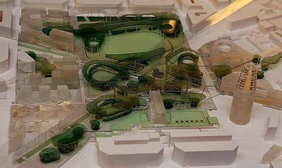 Площадь Глориас станет лёгкими Барселоны