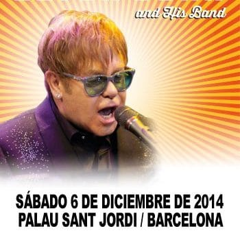 Концерт Элтона Джона в Барселоне