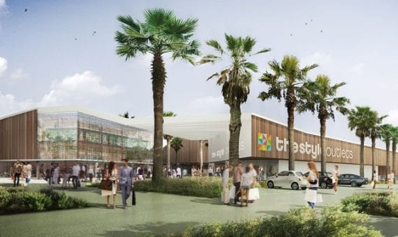 Новый торговый центр в Виладеканс
