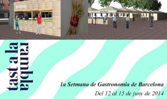 """Гастрономический Фестиваль """"Tast a La Rambla"""" в Барселоне"""