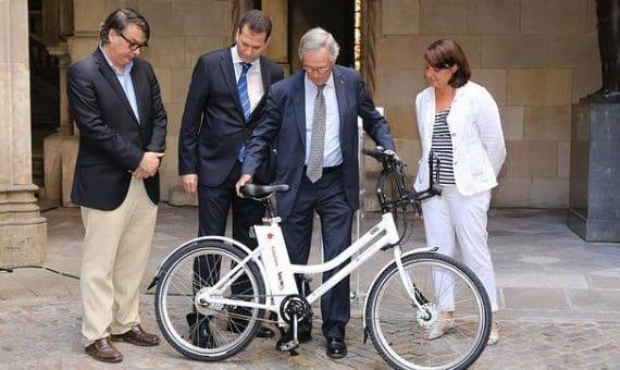 В Барселоне появятся электрические велосипеды