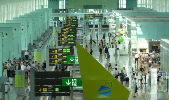 Аэропорт Барселоны достиг рекордного показателя