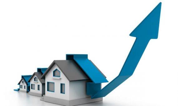 Самое большое ежемесячное повышение цен на недвижимость за последние 8 лет