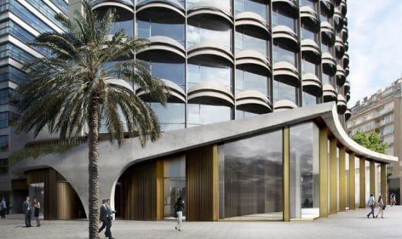 В здании Winterthur разместятся роскошные апартаменты