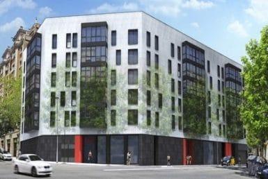 Квартиры в новом жилом комплексе недалеко от Собора Саграда Фамилия в Эшампле