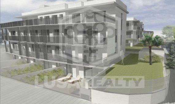 Квартира в новостройке на первой линии моря в Кастельдефельс   1486-0-570x340-jpg