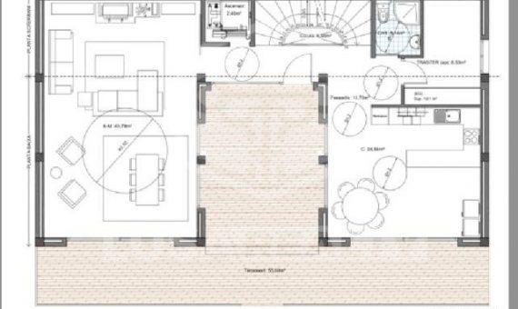 Участок 822 м2 на стадии строительства в Ллорет де мар | 2-7-570x340-jpg