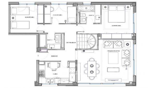 Квартиры от 105 м2 до 130 м2 в Саррия / Сан Джерваси | 8320-2-570x340-jpg