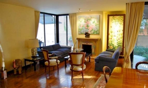 Квартира 230 м2 с садом 200 м2 в Саррия / Сан Джерваси | 2-lusa-flat-sarria-3-420x280-1-jpg