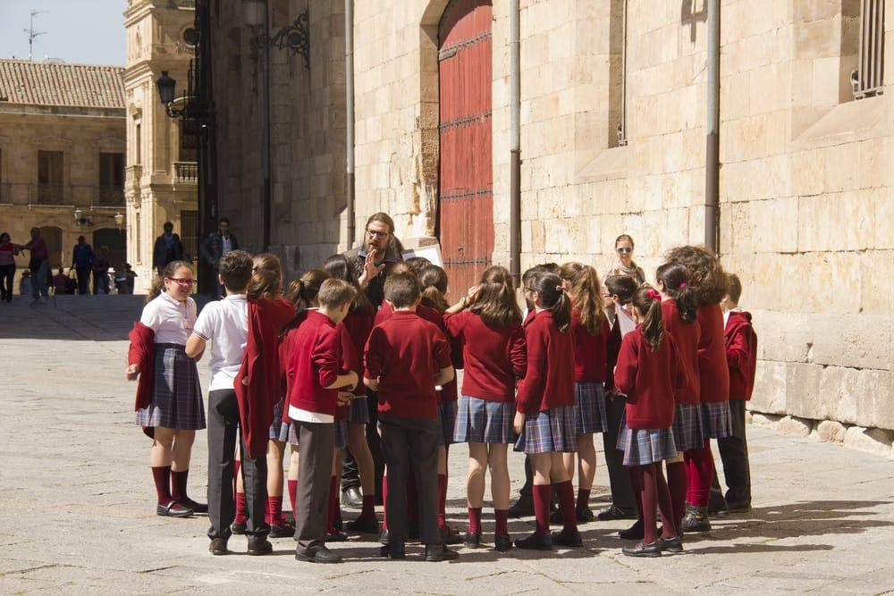Школьные экскурсии в Испании